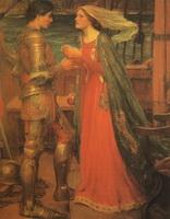 Тристан и Изольда (Дж.В. Ватерхауз, 1916 г.)