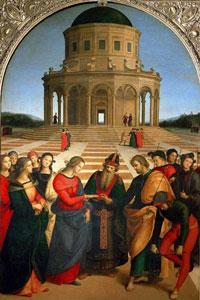Обручение Марии (Рафаэль Санти)
