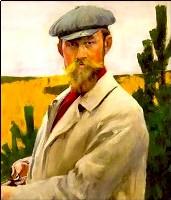 Портрет Кустодиева