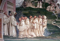 Конец света (Л. Синьорелли, собор в Орвьето, 1499-1504 г.)