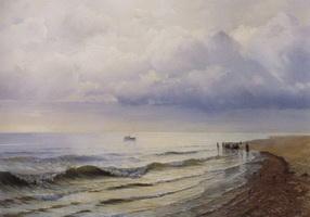 Морской вид (Р.Г. Судковский, 1884 г.)