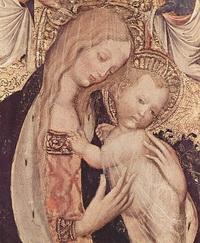 Мадонна с младенцем (Пизанелло)