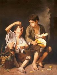 Мальчики с фруктами (Б.Э. Мурильо, 1645-1654 г.)