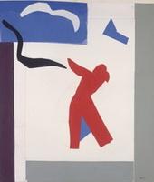 Танцовщик (А. Матисс, 1937-1938 г.)