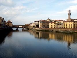 Река Арно во Флоренции