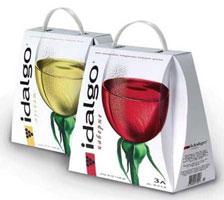 Вино Idalgo (упаковка)