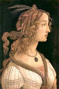 Симонетта Веспуччи (Сандро Ботичелли)