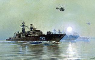 Поиск подводных лодок (В.А. Печатин)