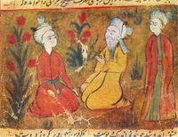 Эмир-Хосров Дехлеви и юноши (XVII-XVIII в.)