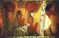 Ра (фреска на гробнице, XIII в. до н.э.)