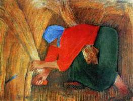 Работница (А. Пахомов)