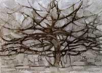Серое дерево (Пит Мондриан)