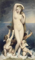 Рождение Венеры (Ж.О.Д. Энгр)