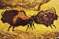 Наскальные рисунки пещеры Ласко во Франции